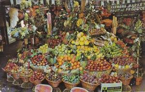 California Los Angeles Produce At Farmers Market 1966