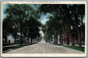AUBURN NY GENESEE 1929 ANTIQUE POSTCARD
