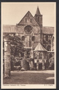 Kent Postcard - Canterbury Cathedral, North East Transept   RS3691