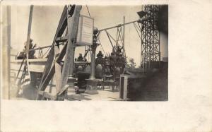 Lexington NE Courthouse? Finished~Omaha Gernandt~Louisvllle Falls City~RPPC 1913