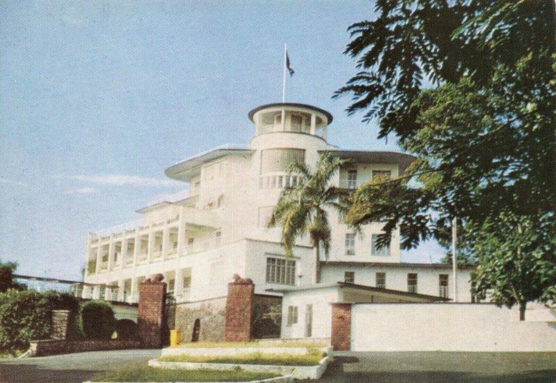 Vintage Postcard, State House, Freetown Sierra Leone, Africa 85W