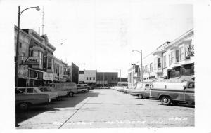 Mendota IL Foster's Pfaff Delivery Van~Jake's TV~Carp's~Griswolds~Gish~RPPC 1971