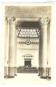 RP, The John G. Shedd Aquarium, Central Archway & Aquatic Clock, Chicago, Ill...