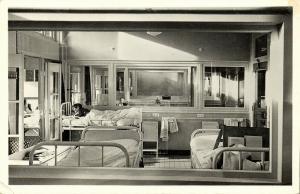 netherlands, SOEST, Sanatorium Zonnegloren, Hospital, Children's Unit 1950s RPPC