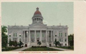FRESNO, California, 1901-07; Fresno County Court House