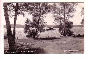 Real Photo, Temagami Lake Resort, Ontario, Used 1946