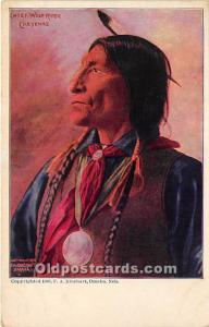 Chief Wolf Robe Cheyenne Unused