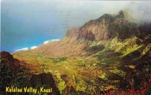 Hawaii Kauai Kalalau Valley 1968