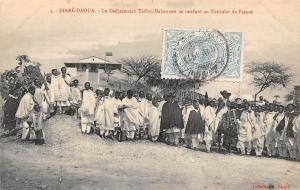 Ethiopia Dirre-Daoua, Dedjazmatch Taffari Makonnen, Consultant de France  1913