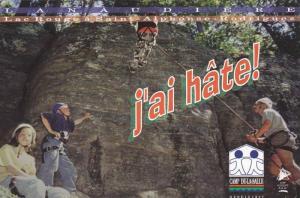 Rock Climbing , Camp De-La-Salle , Quebec , Canada , 50-70s