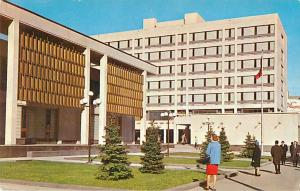 Civic Centre, Winnipeg, Manitoba, MB, Canada, 1967 Chrome