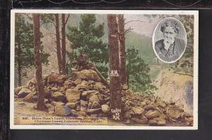 Helen Hunt's Grave,Colorado Springs,CO Postcard