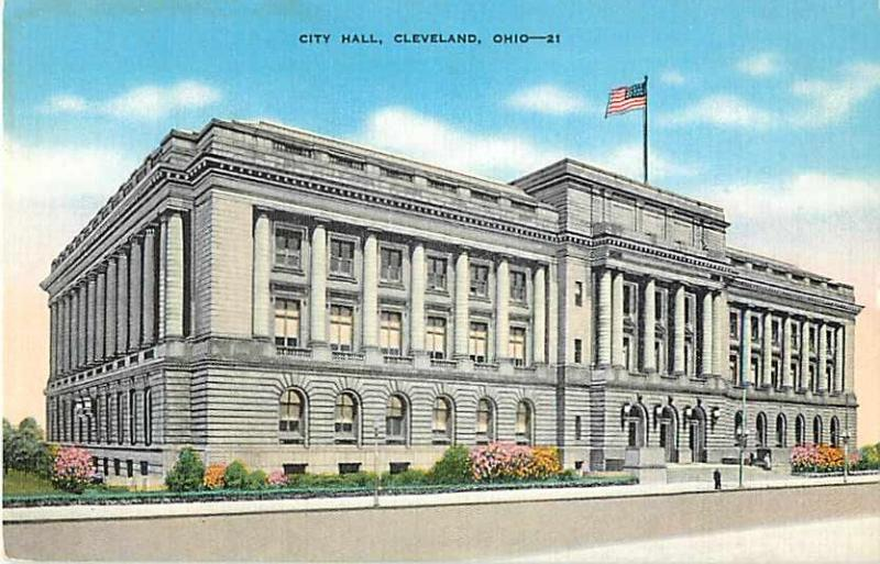 Linen of City Hall Cleveland Ohio OH
