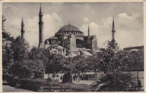 Mosquee St. Sophie, Istanbul, Turkey, 1910-1920s