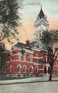LPS97 Huntingdon Pennsylvania Court House Postcard view