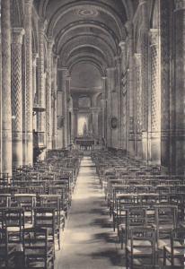 France Poitiers Eglise Notre-Dame La Nef Centrale et le Choeur