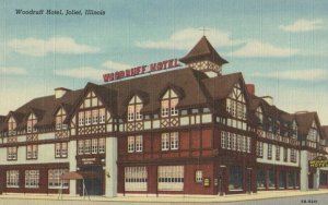 JOLIET , Illinois , 1930-40s ; Woodruff Hotel