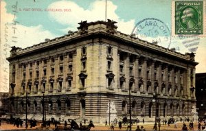 Ohio Cleveland Post Office 1912