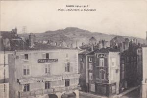 PONT A MOUSSON, France, 1910´s; Pont A Mousson Et Mousson, Guerre 1914-1915,...