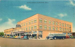 Hotel Mason Claremore Oklahoma OK Linen