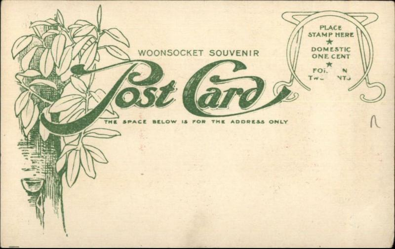 Woonsocket Rubber Co Footwear of Nations RUSSIA NYC Overprint Postcard