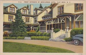 Front Entrance Of Bonclarken Hotel Flat Rock North Carolina