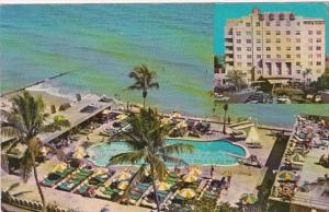 Florida miami Beach The Atlantis Hotel Pool & Cabana Club