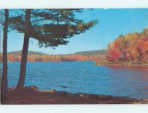 Pre-1980 TOWN VIEW SCENE Lennoxville Quebec QC p9646