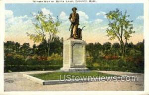 Minute Man, Battle Lawn Concord MA Unused