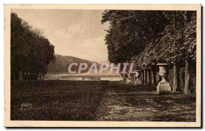 Old Postcard Splendors and Charmes Of Versailles Gardens The Green Carpet and...