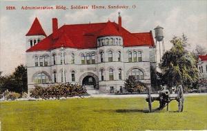 Ohio Sandusky Administation Building Soldier Home