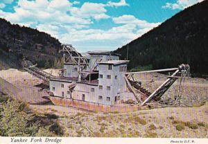 Idaho Yankee Fork Creek Yankee Fork Dredge