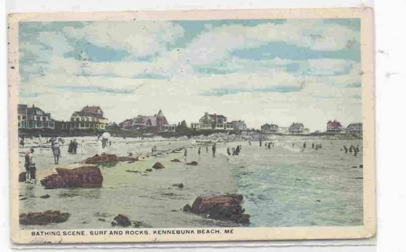 1930/'s//40/'s Kennebunk Beach Maine Surf Summer Cottages