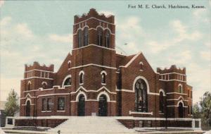 Kansas Hutchinson First Methodist Episcopal Church 1910