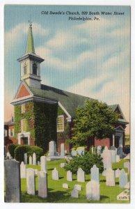Philadelphia, Pa., Old Swede's Church, 929 South Water Street
