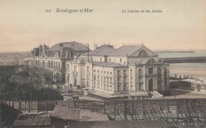 BOULOGNE SUR MER , France , 00-10s ; Le Casino et les Jetees