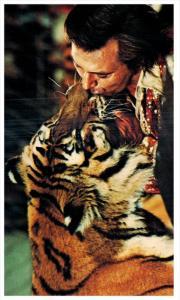 Ringling Bros. Barnum Bailey Circus  Charly Baumann  Kissing Bengal Tiger