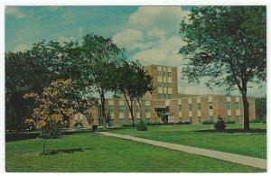 Mitchell, SD, Vintage Postcard View of College Hall, Dakota Wesleyan University