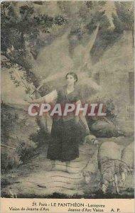 Postcard Old Paris Pantheon Lenepveu