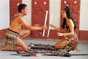 Maori Stick Game - New Zealand