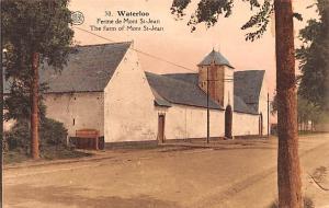 Waterloo Belgium, Belgique, Belgie, Belgien Ferme de Mont Saint Jean Waterloo...
