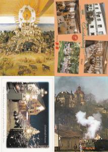 Christkindl Bei Steyr Austria Railway Hotel 4x Postcard s