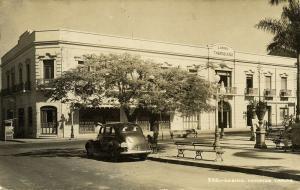 mexico, TAMPICO, Casino, Car (1949) RPPC Postcard