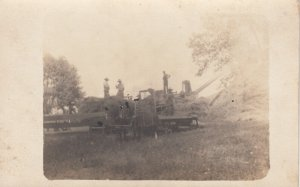 RP; Loading a hay wagon , 00-10s