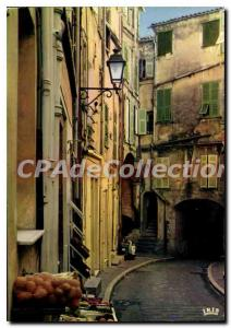 Modern Postcard The French Riviera French Riviera Menton France Pearl Street ...