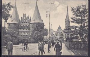 BGermany - Lubeck - Holstentor  1920