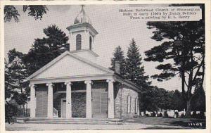New York Historic Reformed Church Of Shawangunk Dexter Press
