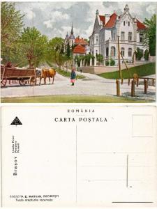 CPA AK BRASOV Livada postei ROMANIA (500555)