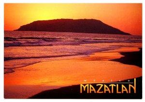 Mexico - Mazatlan. Sunset on the Beaches