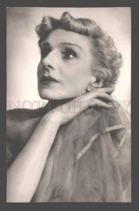 106623 DUDINSKAYA Famous Russian BALLET Star DANCER old PHOTO